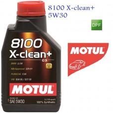 MOTUL 8100 X-clean + 5W30 1 л