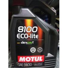 MOTUL 8100 ECO-lite 5W30 5 л