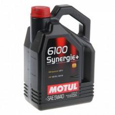MOTUL 6100 Synergie+ 5W40 4 л