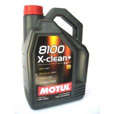 MOTUL 8100 X-clean + 5W30 5 л