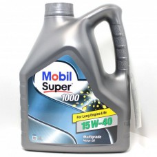 Mobil Super 1000 X1 15W-40 4 л