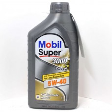 Mobil Super 3000 X1Diesel 5W40 1 л