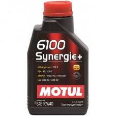 MOTUL 6100 Synergie + 10W40 1 л