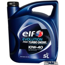ELF EVOLUTION 700 Turbo DIESEL 10w40 5 л