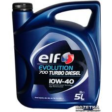 ELF EVOLUTION 700 Turbo DIESEL 10w40 5 л