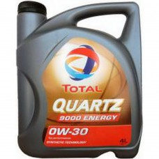 TOTAL QUARTZ 9000 energy  0W-30 4 л