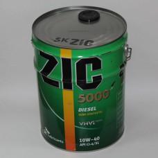 ZIC 5000 DIESEL 10W40 20 л